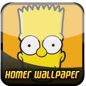 Homer Simson Wallpaper HD icon