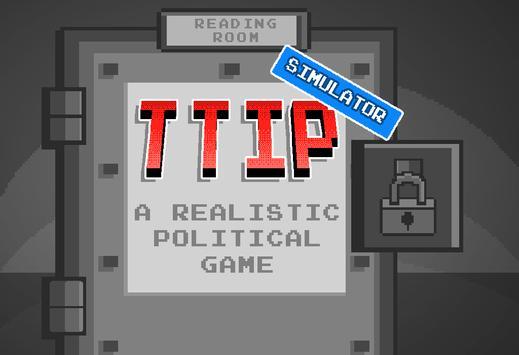 TTIP Simulator poster