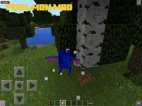 Pixelmon Mod for Minecraft PE apk screenshot