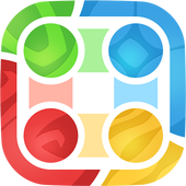 Flow lines : connect the Dots icon