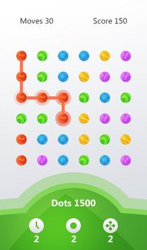 Flow lines : connect the Dots poster