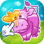 Kid's puzzle Farm games icon
