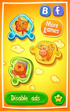 Kid's puzzle Farm games poster