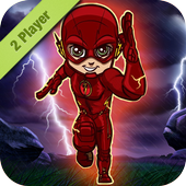 2 Player: The Flash vs Thor icon