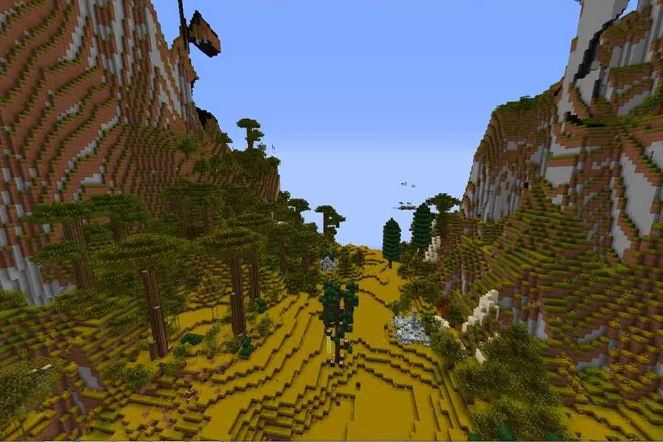 Planet Earth map for Minecraft MCPE for Android - APK Download