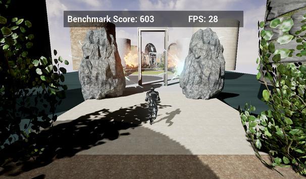 Unreal System Benchmark apk screenshot