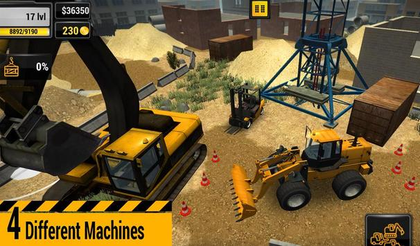 Construction Machines 2016 screenshot 5