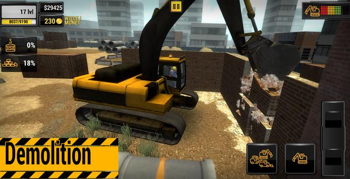 Construction Machines 2016 screenshot 2