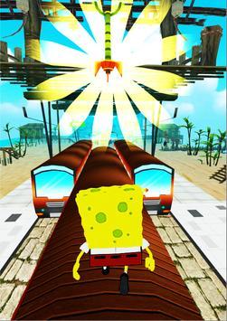 Subway super sponge-bob temple Surf Run poster