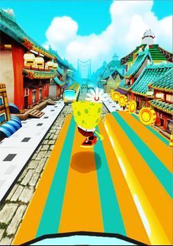 Subway super sponge-bob temple Surf Run screenshot 3