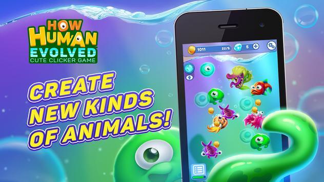How human evolved: cute clicker game screenshot 3