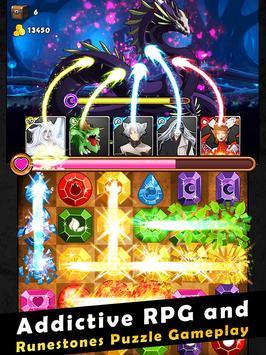 Dragon Kingdom War: Puzzle RPG apk screenshot