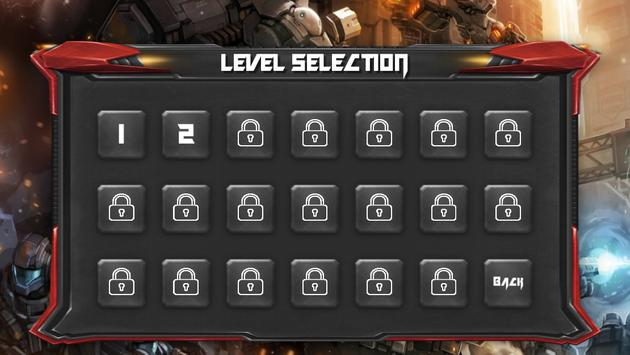 Robot War - Shoot to Survive apk screenshot