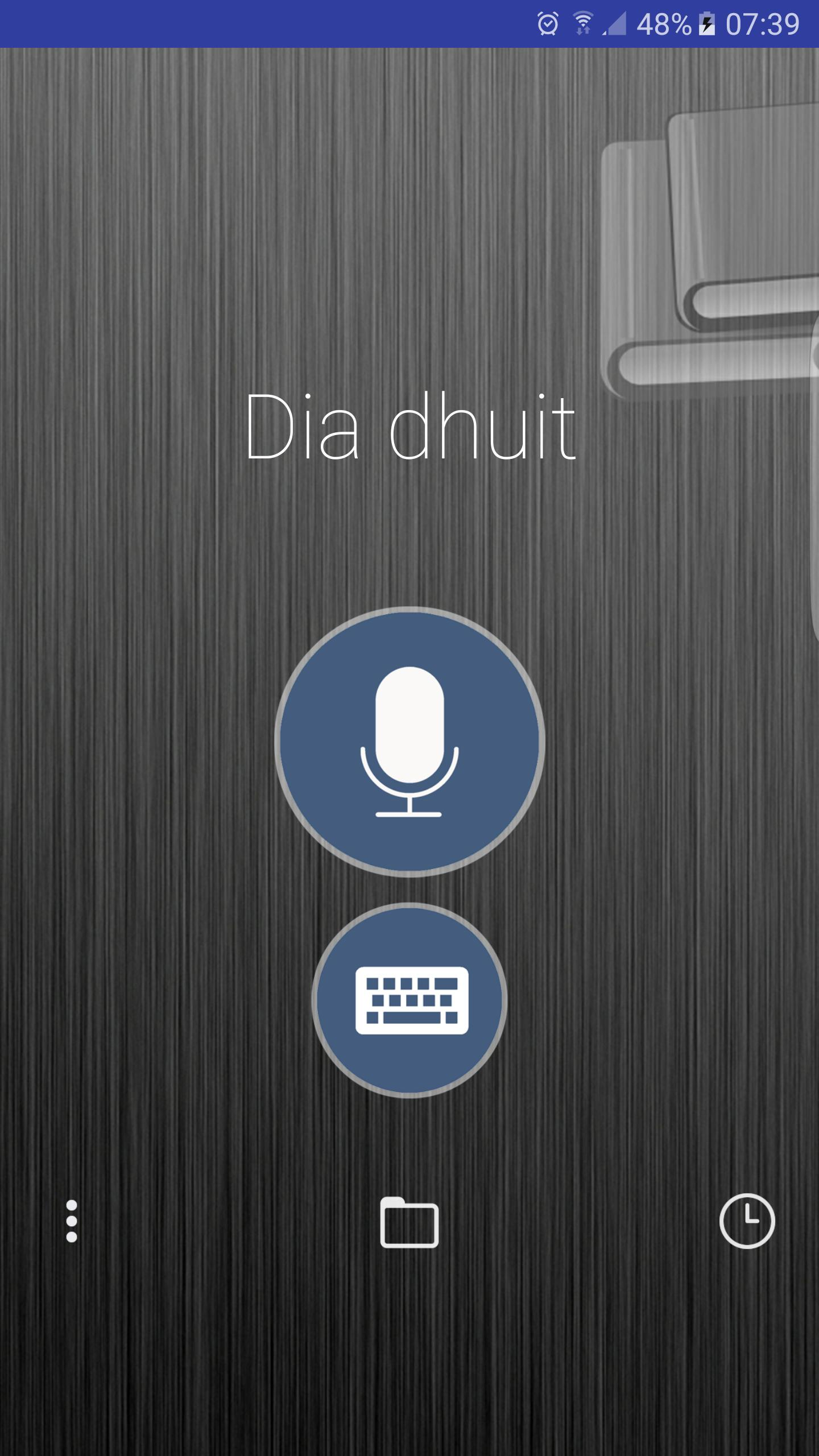 Voice Translator English Full poster