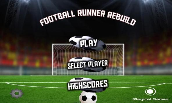 Soccer Runner Rebuild FREE screenshot 1