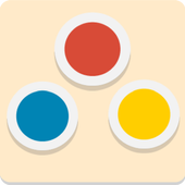 Simple Dots : Connect the dots icon