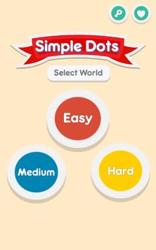 Simple Dots : Connect the dots poster