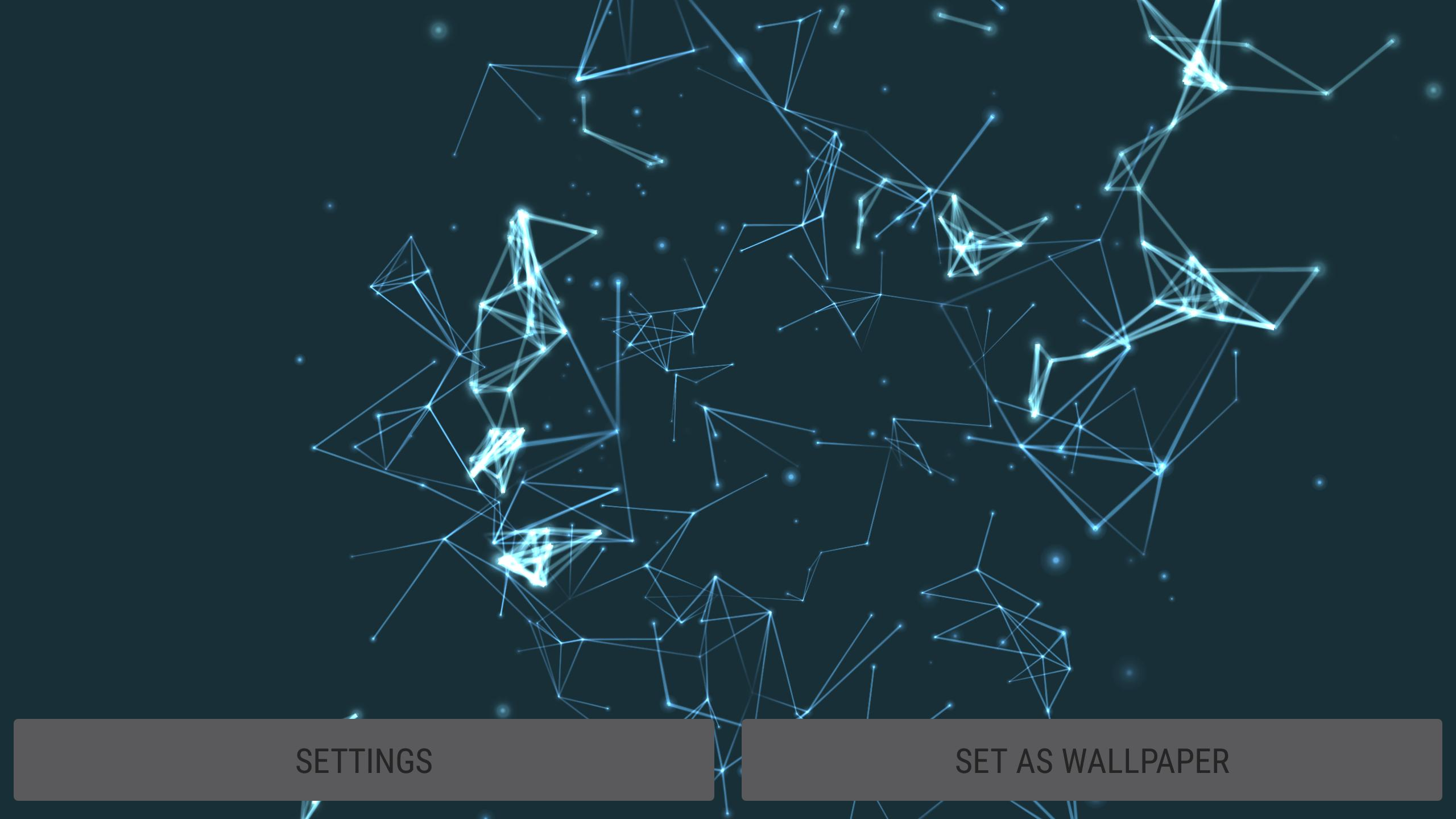Particles 3d Live Wallpaper For Android Apk Download