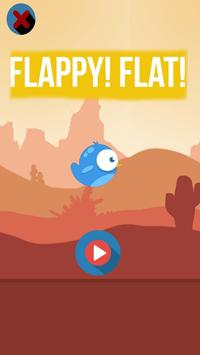 Flappy! Flat! poster