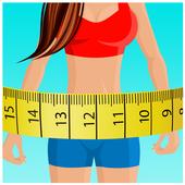 Body Fitness Measurements Prank icon