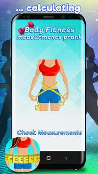 Body Fitness Measurements Prank screenshot 3
