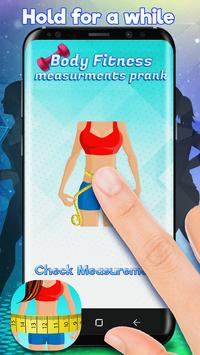 Body Fitness Measurements Prank screenshot 1