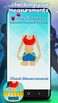 Body Fitness Measurements Prank screenshot 2
