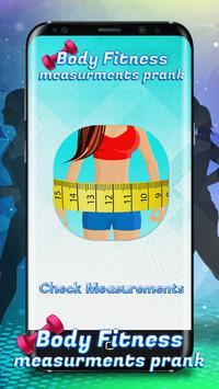 Body Fitness Measurements Prank screenshot 4