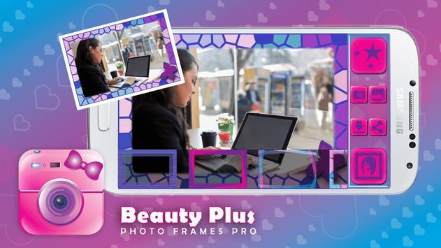 Beauty Plus Photo Frames Pro poster