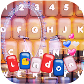 London Love Photo Keyboard icon