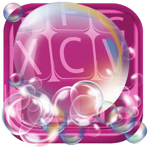 Soap Bubble Keyboard Themes