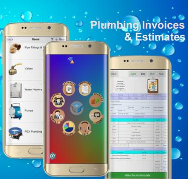 Plumbing Invoices poster