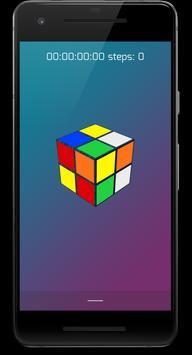 Puzzle game Rubik's Cube screenshot 1