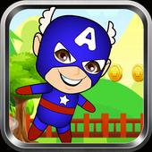 Captain Super America World Sandy Game icon