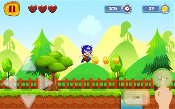 Captain Super America World Sandy Game screenshot 7