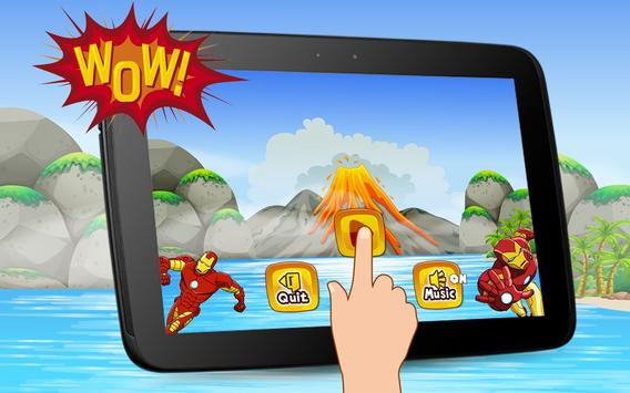 Super Iron Hero World Sandy Man Game screenshot 3