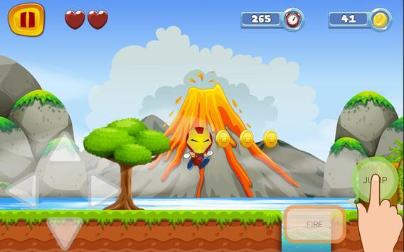 Super Iron Hero World Sandy Man Game screenshot 7