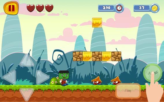 Super hulK World Sandy Hero Game frEE screenshot 1