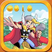Super thoR World frEE Sandy Game icon