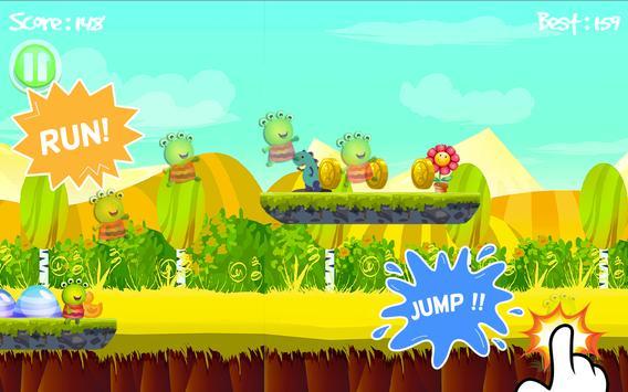wanDA Hopper and Alien Jumping Game screenshot 1