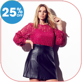 Plus Size Clothing Shopping App icon