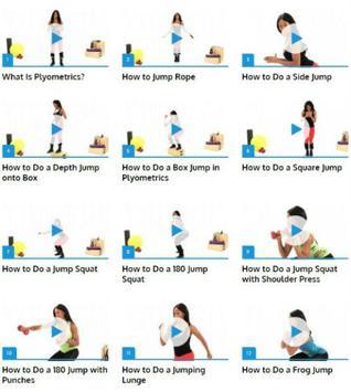 Plyometrics (Jump Workout) poster