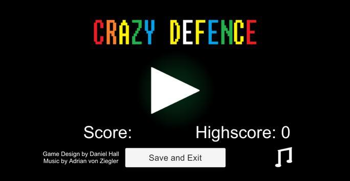 Crazy Defence poster