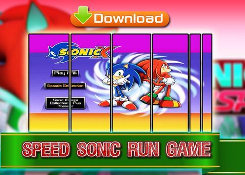 Sonic Run Adventure poster