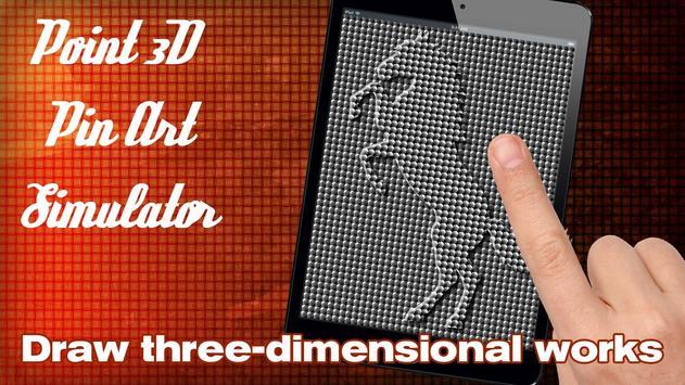 Point 3D Pin Art Simulator apk screenshot