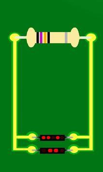 Resistor Clock poster