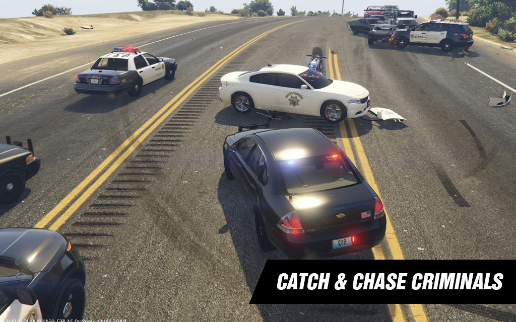 Police Highway : City Crime Chase Driving Game 3D for
