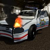 Police Car Destruction 3D icon