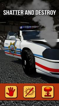Police Car Destruction 3D screenshot 1