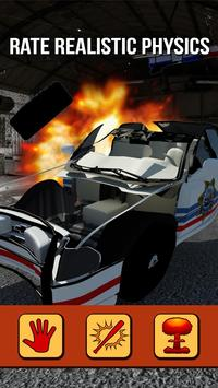 Police Car Destruction 3D screenshot 2